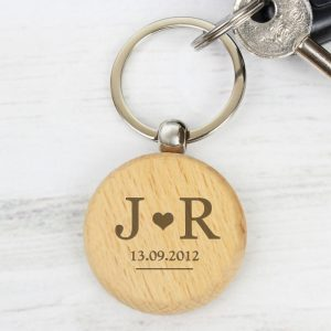 Keyring with Initials