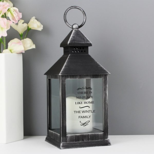 LED Lantern - Personalised with name & message