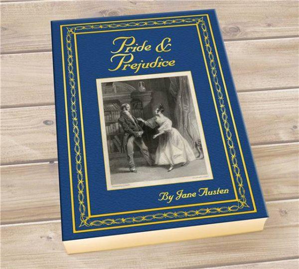 Pride Prejudice Personalised Book