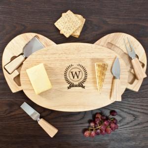 Personalised Monogram Cheese Board