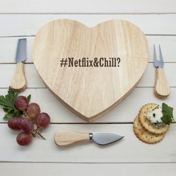 Hashtag Personalised Cheeseboard