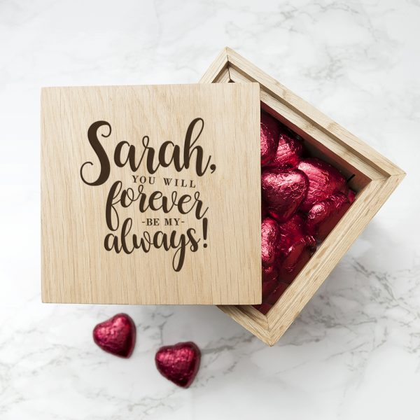 Oak Photo Cube - Forever my Always
