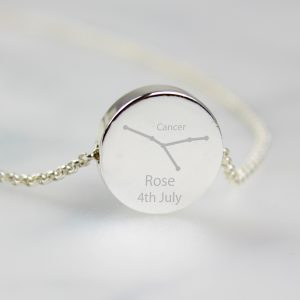 Cancer Star Sign Zodiac Necklace