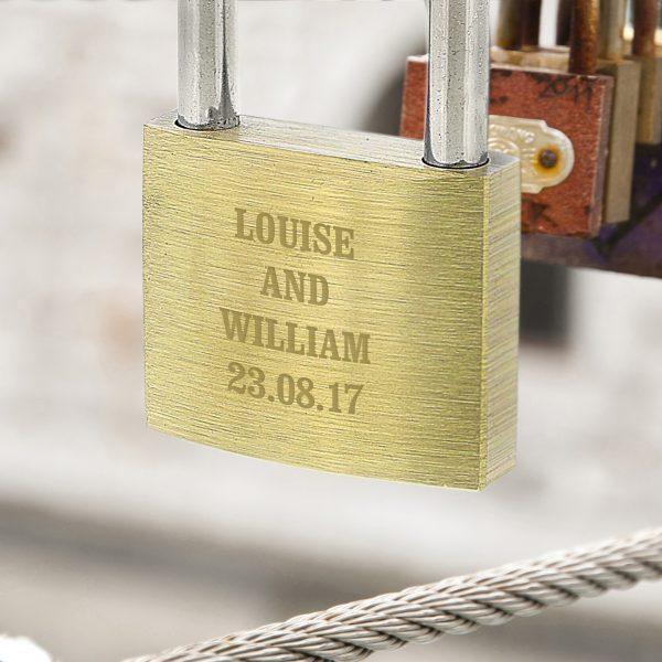 Personalised Love Locks