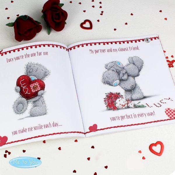 Personalised Valentine's Book
