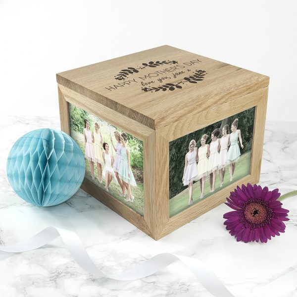 Mother's Day Personalised Photo Cube