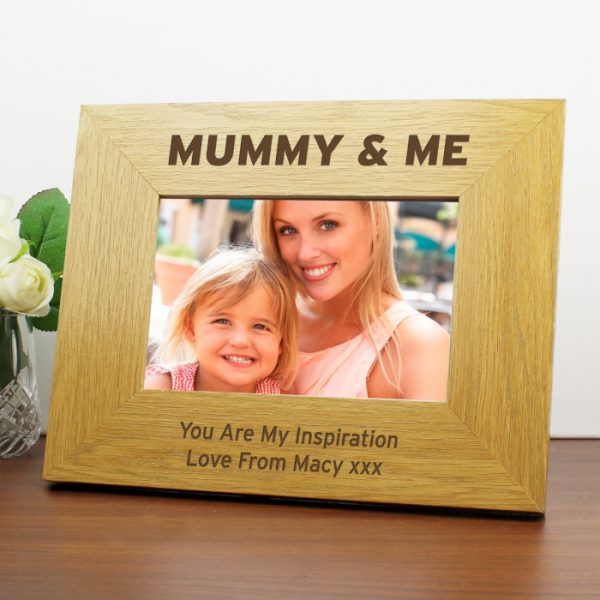 Mummy & Me Personalised Photo Frame