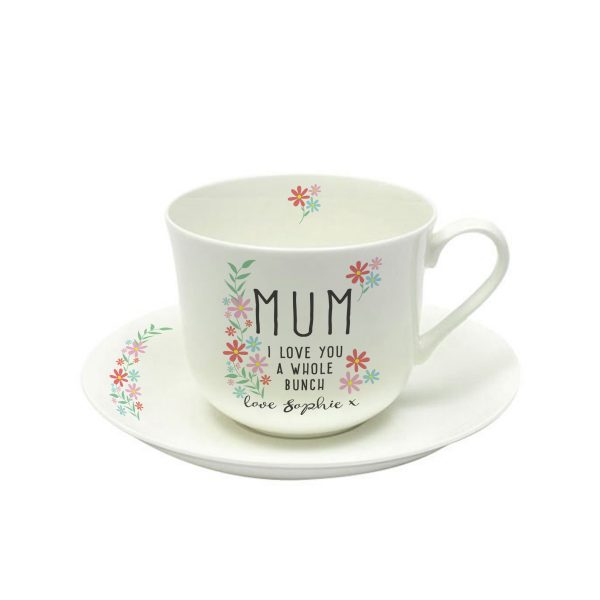 Personalised Nans Tea Cup & Saucer