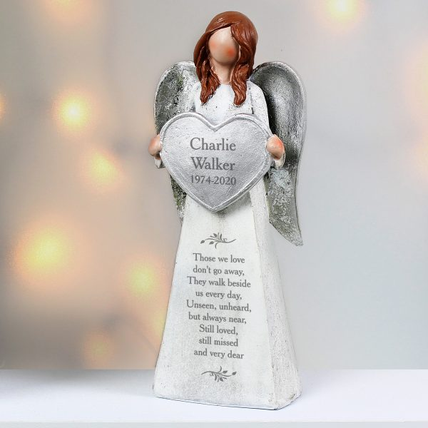 Personalised Memorial Angel Ornament