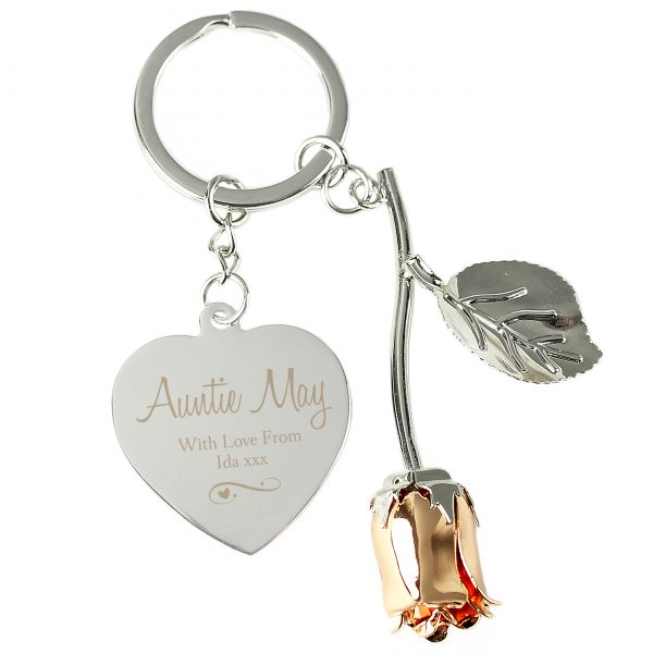 Personalised Keyring for Her