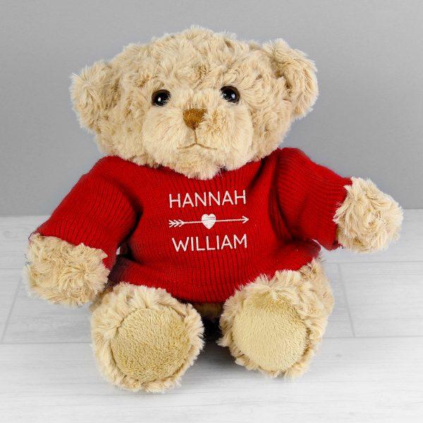 Valentine's Personalised Teddy Bear