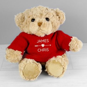 Couple's Personalised Teddy Bear