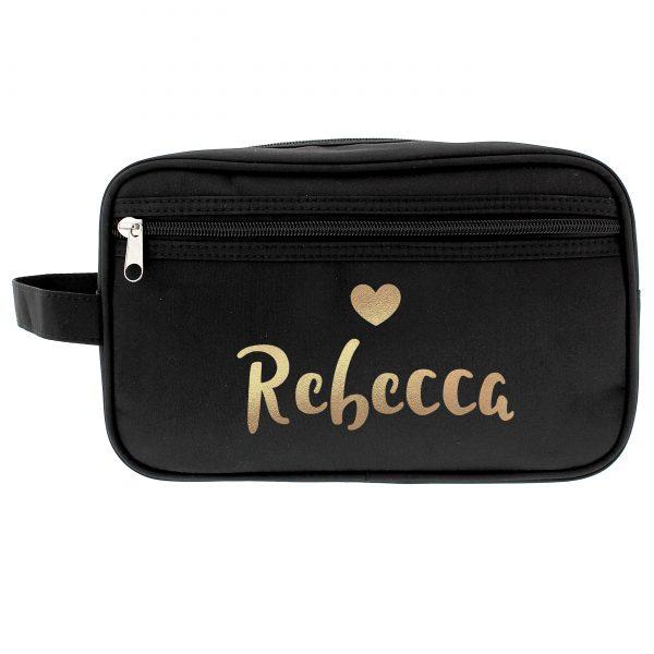 Personalised Gold Name Vanity Bag
