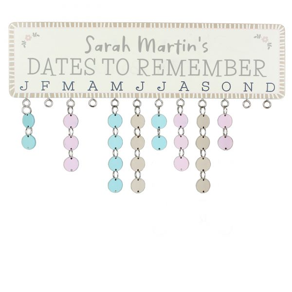 Dates to Remember Personalised Planner