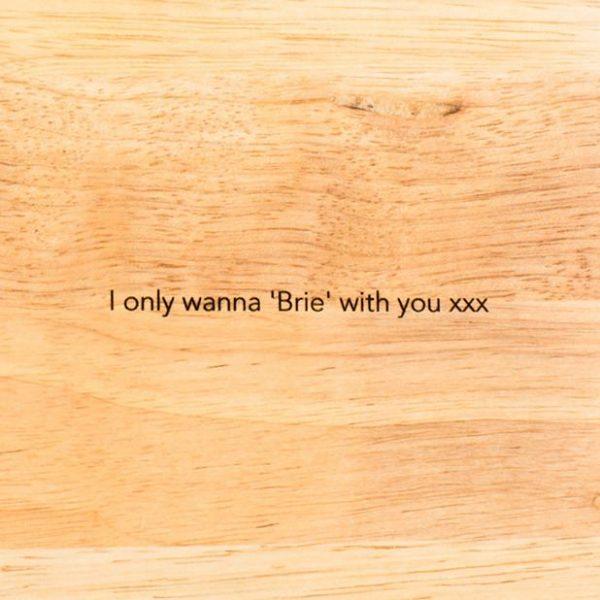 Personalised Chopping Baking Board