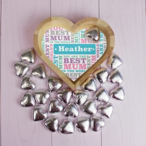 Best Mum Chocolate Heart Tray