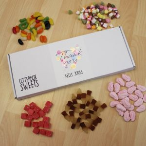 Thank You Letterbox Sweets
