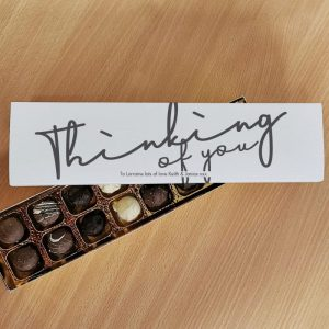 Thinking of You Letterbox Chocolate Truffles