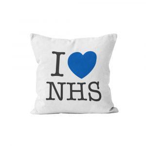 I Heart NHS Cushion