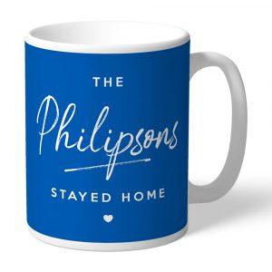 Stayed Home Personalised Mug