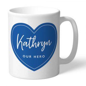 NHS Personalised Our Hero Mug