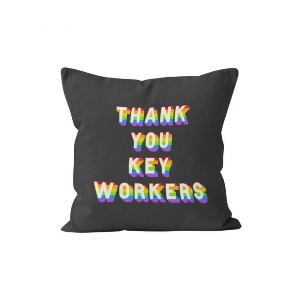 Thank you Keyworkers Cushion