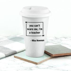 Personalised Words of Wisdom Travel Mug
