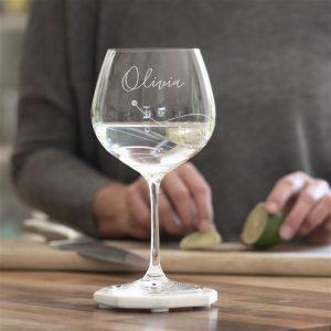 Swarovski Gin Glass