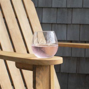 Stemless Gin Glass