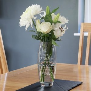 Personalised 'First My Mother - Forever My Friend' Bullet Vase