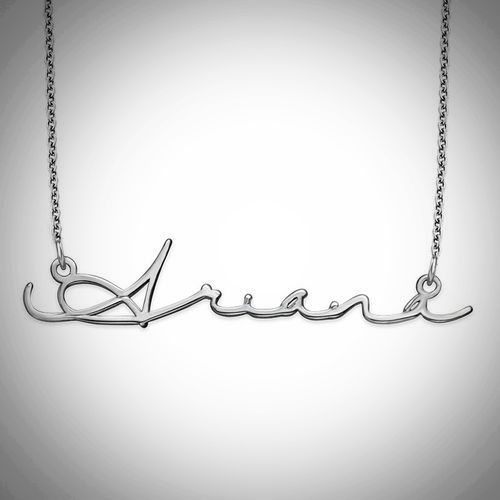 Signature Style Name Necklace