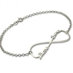 Personalised Infinity Name Bracelet