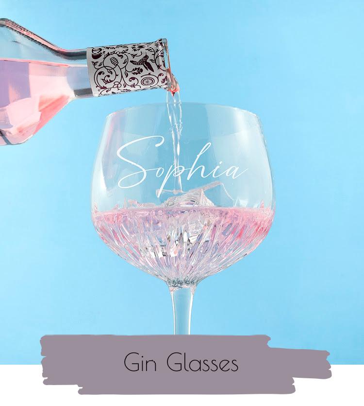 Personalised Gin Glasses