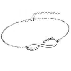 Infinity Bracelet Sterling Silver