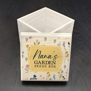 Personalised Botanical Seeds Box