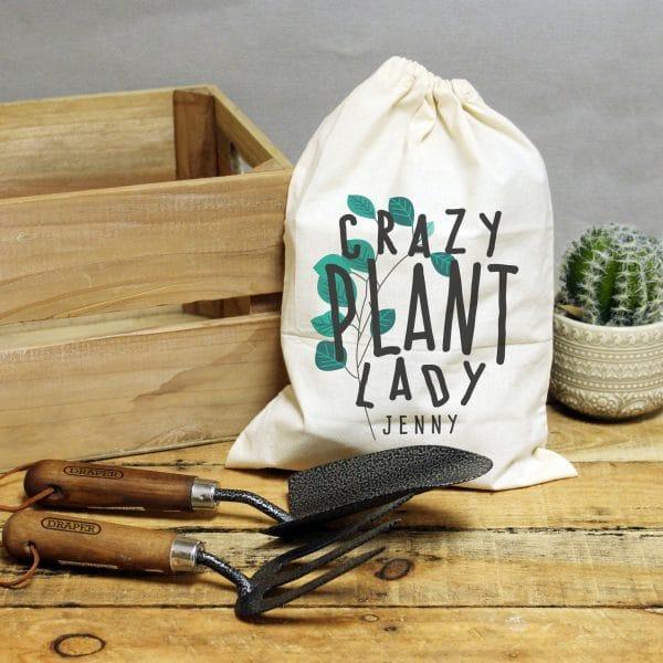 Crazy Plant Lady Garden Tool Set