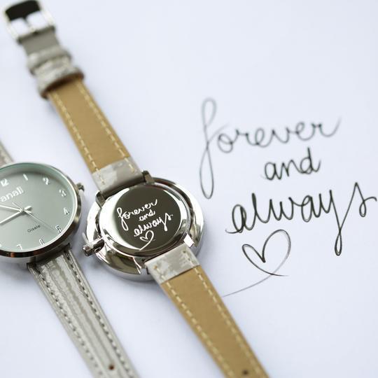 Handwriting Personalised Watch