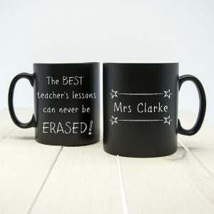The Best Teacher's Lessons Can Never Be Erased! Matte Mug